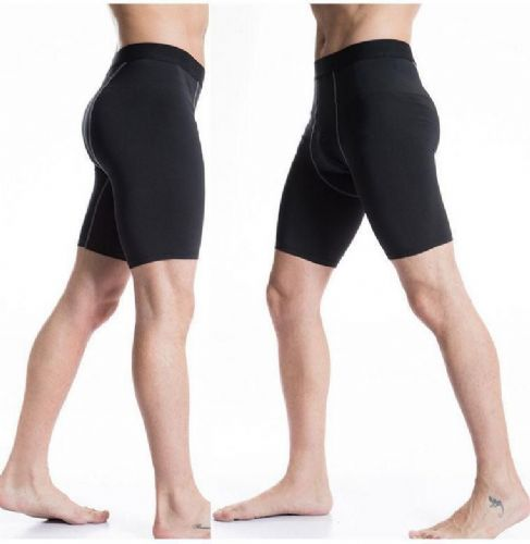 Mens Boys Compression Shorts Base Layer Thermal Sport Skins Under Gear Pants Gym